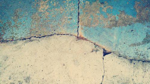 réapparition des fissures
