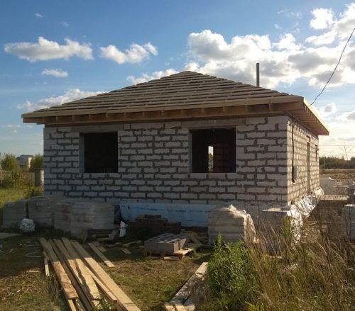 achèvement de la construction
